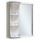 Зеркальный шкаф Руно Секрет 75 L белый (снято с производства)