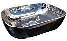 Раковина CeramaLux Color Edition Nc425 45.5 см серебряный