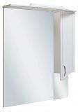 Зеркальный шкаф Руно Севилья 75 R белый