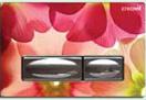 Кнопка смыва Creavit GP4009.05 цветы
