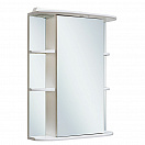 Зеркальный шкаф Руно Гиро 60 R белый