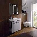 Мебель для ванной Geberit Renova Compact 60 см L белый глянец