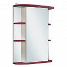 Зеркальный шкаф Руно Гиро 55 R красный (снято с производства)