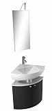 Мебель для ванной Jacob Delafon Odeon Up 71 см угловая, серый антрацит (снято с производства)