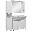 Мебель для ванной Руно Стиль 85 белый