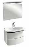 Мебель для ванной Jacob Delafon Presquile 50 см белый бриллиант (снято с производства)