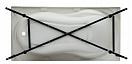 Каркас Aquanet Rosa 150x75 00204029