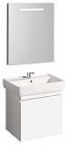 Мебель для ванной Geberit Renova Plan 52.6 см белый глянцевый